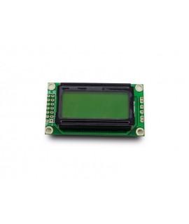 LCD کاراکتری 2*8