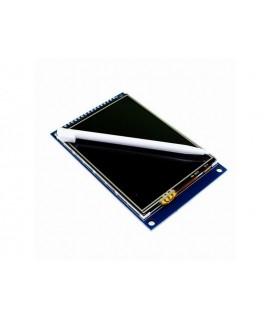 نمایشگر 3.2 اینچ لمسی TFT برای آردوینو به همراه پورت SD card