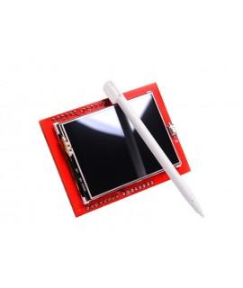 شیلد نمایشگر 2.4 اینچ لمسی برای آردوینو (بدون قلم)
