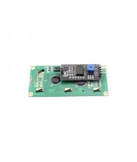 LCD کاراکتری 2*16 با رابط I2C