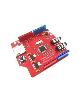 شیلد ضبط و پخش صدا با آمپلی فایر با آیسی VS1053