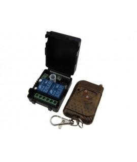 ریموت کنترل دو کانال کدلرن با جعبه