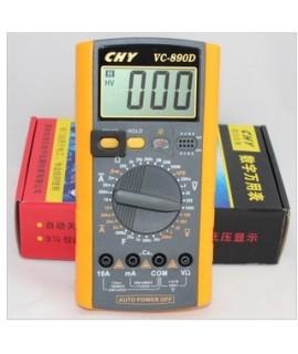 مولتی متر دیجیتال CHY مدل VC890D