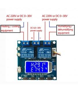 ماژول کنترل دما و رطوبت XY-TR01 با دقت بالا