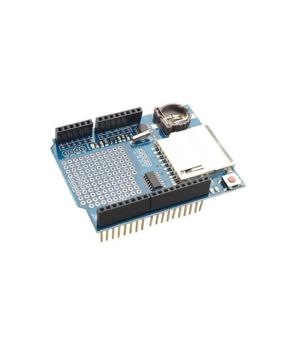 شیلد دیتا لاگر آردوینو Arduino data logging shield