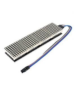 ماژول نمایشگر دات ماتریس 4 عددی 8*32  با آیسی MAX7219