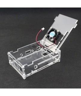 کیس شفاف رزبری پای به همراه فن