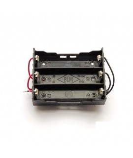 جاباتری سه تایی با اتصال موازی باتری های لیتیوم یون 3.7V سایز 18650