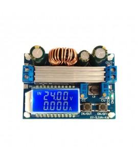 ماژول کاهنده و افزاینده ولتاژ  4 آمپری با قابلیت کنترل جریان و نمایشگر با جریان