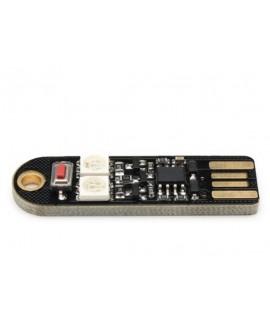 ماژول LED RGB با تغذیه 5 ولت USB و دکمه تنظیم حالت