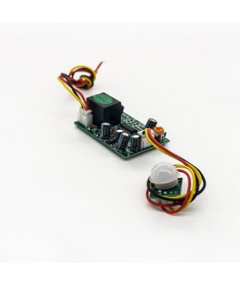 ماژول تشخیص حرکت PIR مدل JL-286 مجهز به برد رله