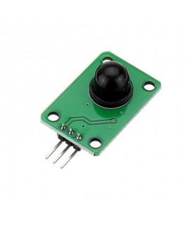 ماژول پایروالکتریک اینفرارد PIR با زاویه 120 درجه مخصوص تشخیص حرکت