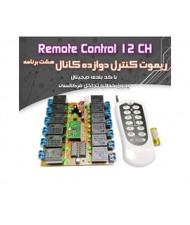 ريموت کنترل دوازده کانال (مونتاژ نشده)