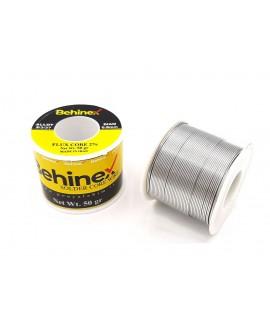 سیم لحیم 50گرمی 0.8 میلیمتر Behinex بهینکس 63%