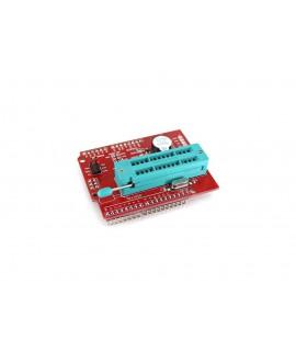 شیلد پروگرامر آردوینو UNO با رابط ISP مناسب برای پروگرام کردن AVR