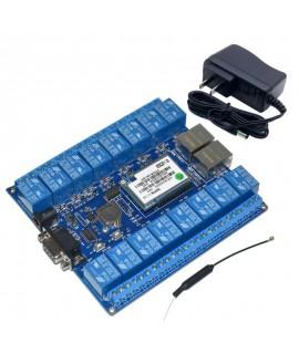 copy of ماژول وای فای HLK-RM04-SW16 با 16 کانال و مجهز به پورت LAN