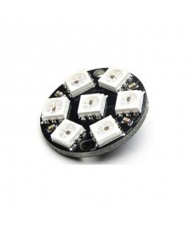 حلقه ال ای دی 7 تاییW2812 LED RGB RING
