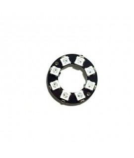 حلقه ال ای دی 8 تاییW2812 LED RGB RING