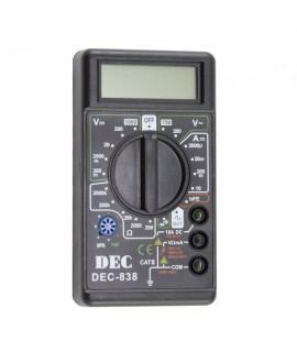مولتی متر DEC مدل 838 / كوچك