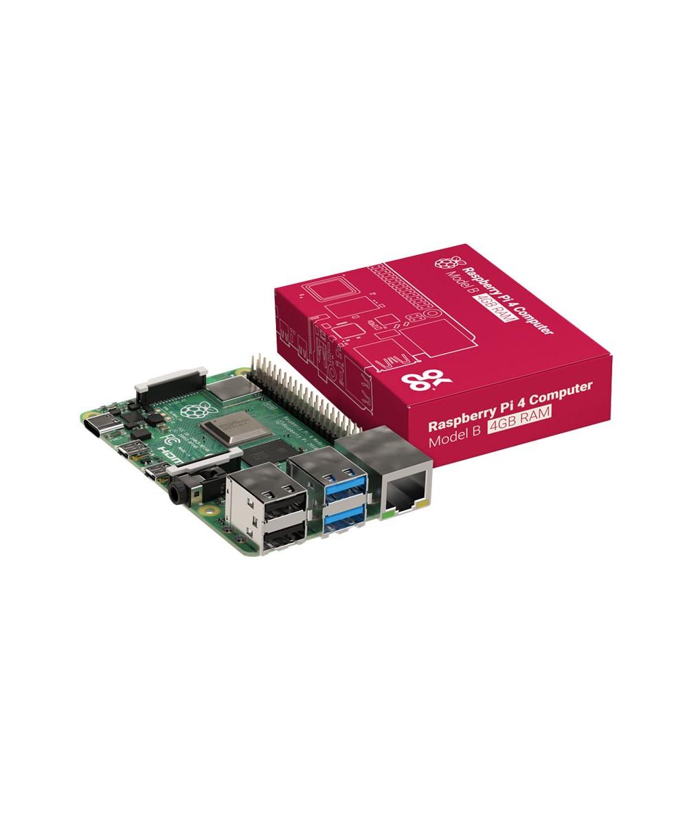 برد رزبری پای 4 مدل B ساخت چین Raspberry pi 4 با رم  4 گیگابایت